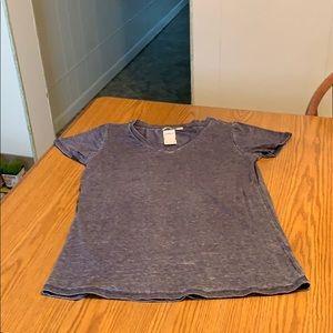"Heart Hips ""Acid wash"" t shirt, size juniors S."